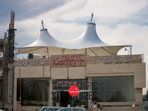 سازه-چادری-کافی-شاپ-خلیج-فارس