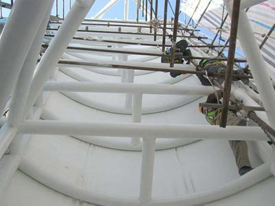 سازه-فلزی-پشتیبان-سازه-چادری